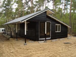 Uitbouw vakantiewoning in de Lutte